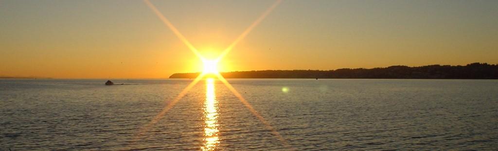 White Rock Sunset