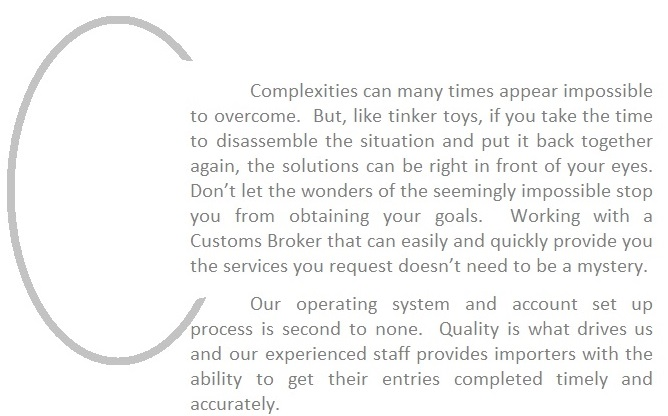 Complexities to Quality